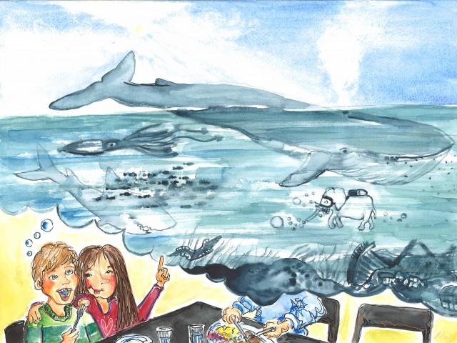 Hvem mætter blåhvalen?